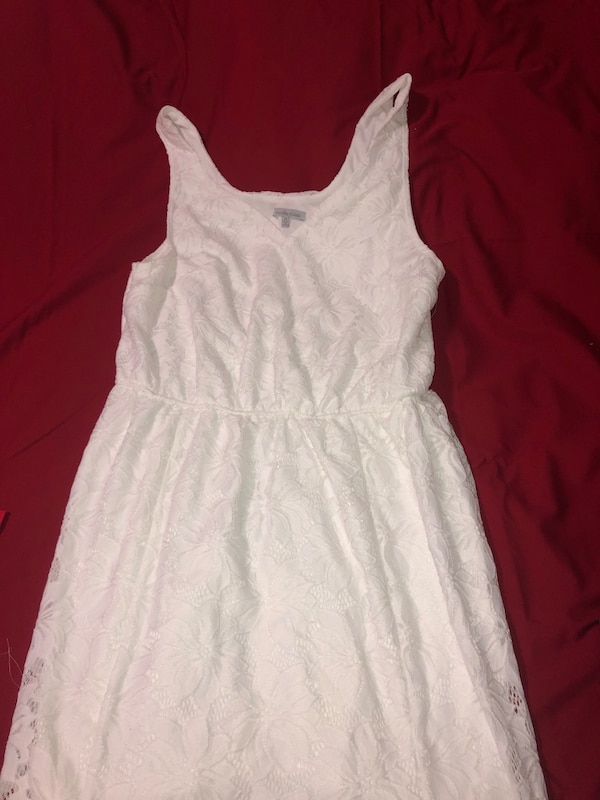 White long dress 1x