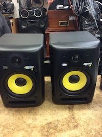 KRK speAkers Rokit18 Used. Mint . In a good working order.  Baltimore, 21205