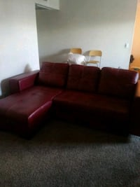 Red leather sectional Las Vegas, 89107
