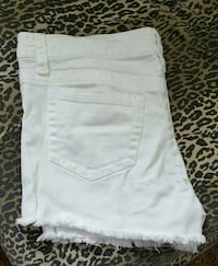 white denim daisy dukes Saint Robert, 65584
