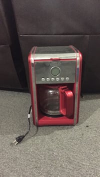 red and gray coffeemaker Sylvan Lake, T4S 1W3