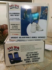 20 LBS ALL PRO ANKLE WEIGHT Paterson, 07502