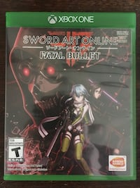 Sword Art Online Fatal Bullet Xbox One South-West Oxford, N5C 3J7