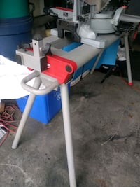 Millwawkee miter saw stand with wheels very stable Kitchener