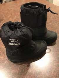 Kamik Toddler Sz 9 Snow Boots Black Lexington Park, 20653