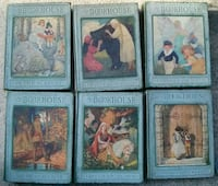 Complete Set My Book House 1925 Editions Vol 1-6 G Woodstock, 22664