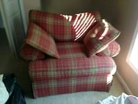 plaid fabric sofa chair Forest Hill, 21050