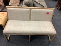 New Tweed Upholstered Wooden Bench  Virginia Beach, 23462