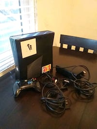 black Xbox 360 console with controller Hanford, 93230