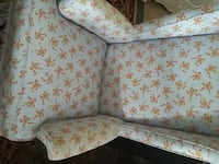 white and pink floral fabric sofa Austell, 30168