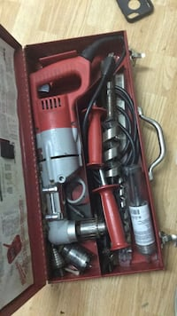 red and black corded power tool Coquitlam, V3J 4A2