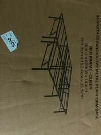 Queen bed frame, new in box Lexington, 40511