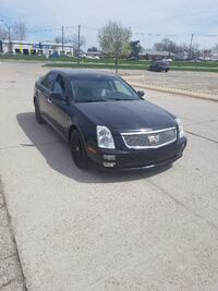 2006 BLACK CADILLAC STS 4 DOOR LOW MILES REMOTE START SMOOTH