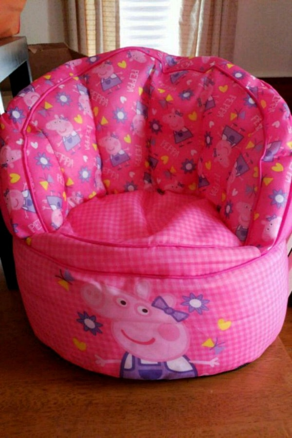 Metaxeirismeno Peppa Pig Bean Bag Chair Pros Pwlhsh Se Sandown Letgo