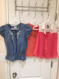 Girl summer clothes sizes 8/10/12 Toronto, M1L 2T1