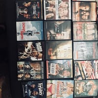 assorted DVD movie case collection Tacoma, 98444