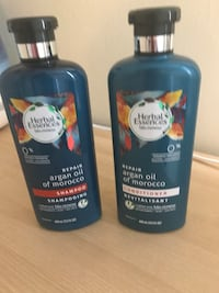 two Herbal Essences shampoo and conditioner bottles Silver Spring, 20910