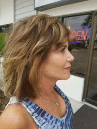 Handpainted Highlights! Pure pigment Express Color Sarasota, 34231