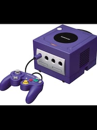 Nintendo GameCube Gaming System,Comes Complete .
