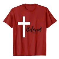 red and white crew neck shirt Tucson, 85711