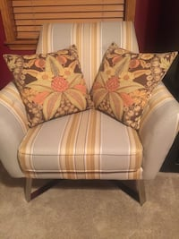 Grey/gold/brown excellent condition sold with pillows/brand new Fayetteville, 78940