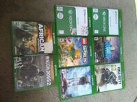 Xbox one game 60 for all 5 for one game all great  Martinsburg, 25403