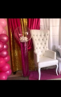 Event Chair for sweet 16, baby showers, kids party Toronto