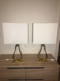 2 Matching Lamps Arlington