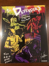 The Defenders 8x10 Bam Box Fan Art Print Brant, N0E 1R0
