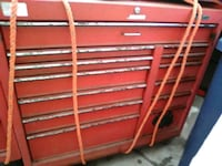 red and gray tool chest Huntington Beach, 92646
