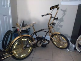 Saints Burberry Lowrider Bike $300