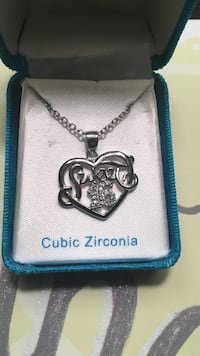 Sweet 16 necklace in jewelry box