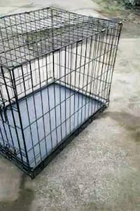 black metal folding dog crate 2317 mi