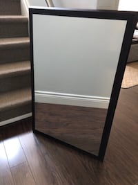 Modern Wood mirror Oakville