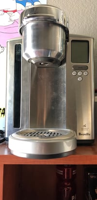 stainless steel and black Cuisinart coffeemaker Orange, 92869