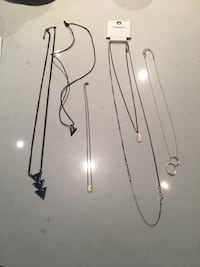 Necklaces jewelry lot Burnaby, V5C 0H9
