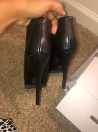 Aldo brand all leather booties Bowie, 20715