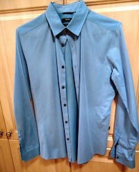 MEXX METROPOLITAN MENS LONG SLEEVE DRESS SHIRT, SIZE M Richmond Hill