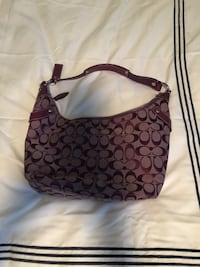 Coach purple bag  Arnold, 21012