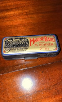 Collectible/Marine Band M. Hohner harmonica limited edition no. 1896 Chantilly, 20152