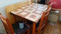 ikea dining table with 4 chairs Toronto, M6E 2H4