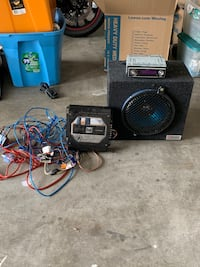 Sub woofer/ Amp / stereo system