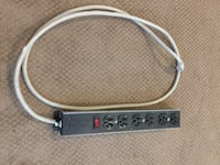 Power Bar 6 outlets and Foot Cord  Surrey