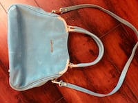 teal leather 2-way handbag Oakville, L6M 3B9