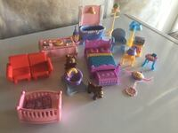 assorted house furniture plastic toy lot Calgary, T3R 0X5