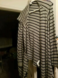 Black and grey stripped sweater Houston, 77024