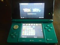 black and green Nintendo 3DS 38 km