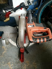 red and gray miter saw Surrey, V3T 3M9