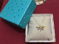 Brand new sterling silver dragonfly necklace Toronto, M9A 4W3
