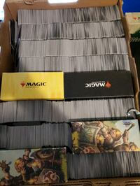 Magic Card Collection.